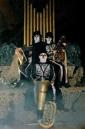 A photo of the band